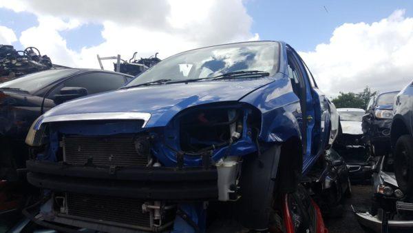 2006 Holden Barina Sedan Blue