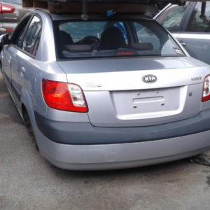 2008 Kia Rio Sedan Silver
