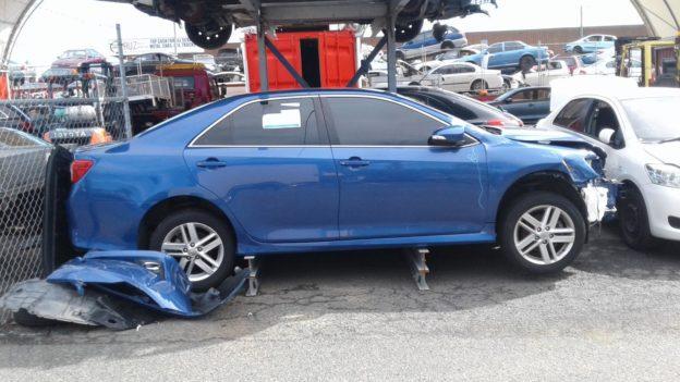 2012 Toyota Camry Blue