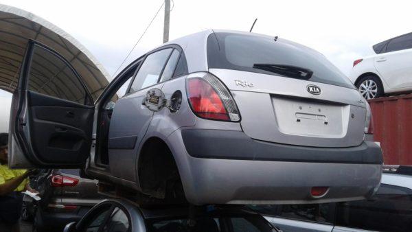 2007 Kia Rio Hatchback Silver