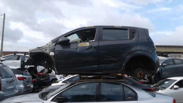 2016 Holden Barina Black