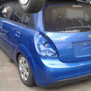 2010 Kia Rio Hatchback Blue