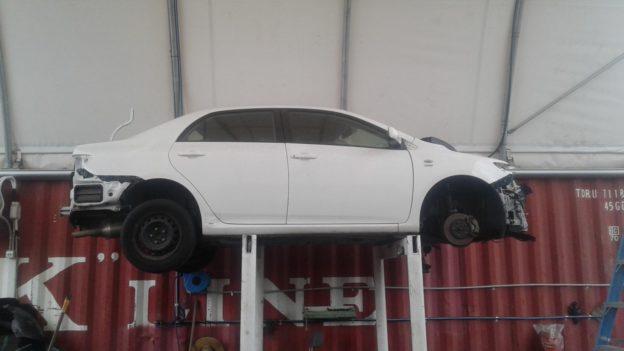 2009 Toyota Corolla White