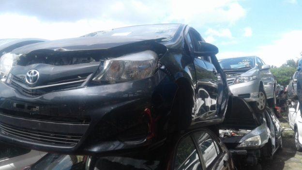 2012 Toyota Yaris Black