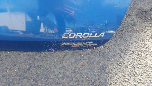 2013 Toyota Corolla Blue Hatchback