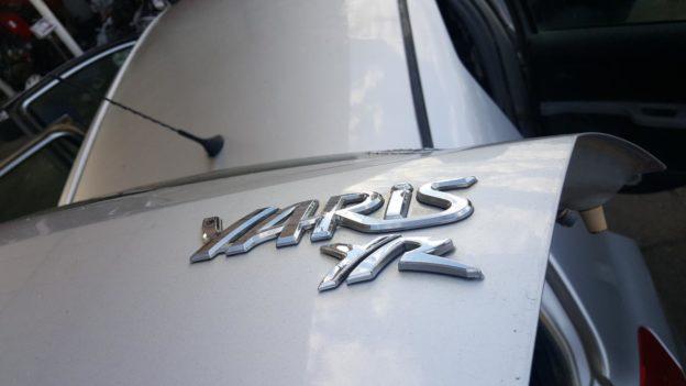 2011 Toyota Yaris Silver Hatchback