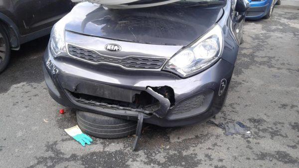 2013 Kia Rio Grey Hatchback