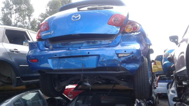2006 Mazda 3 Hatchback Blue