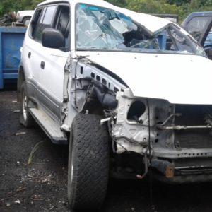 2001 Toyota Landcruiser Prado White