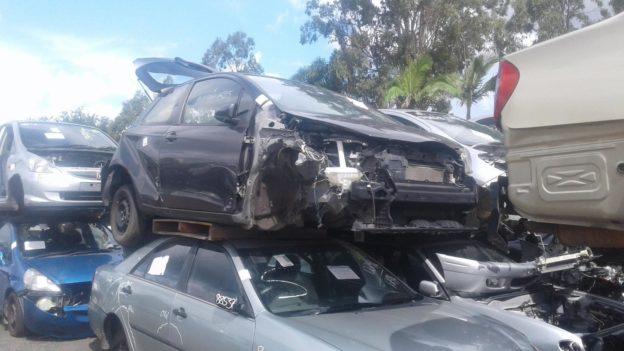 2011 Toyota Yaris Grey