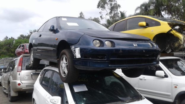 1996 Honda Integra Blue