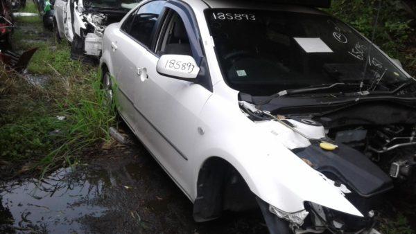 2004 Mazda 6 White