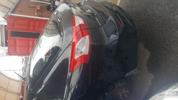 2008 Mitsubishi Lancer black hatchback