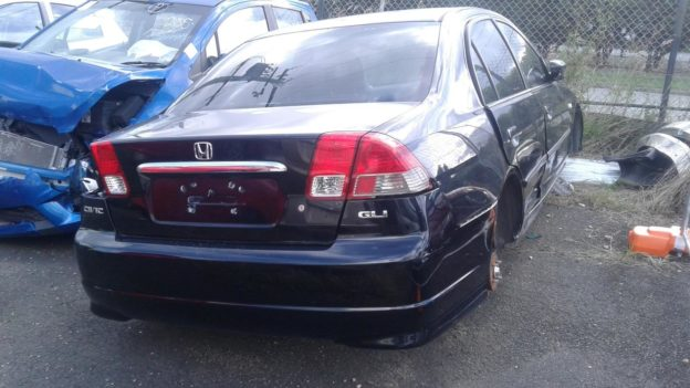 2005 Honda Civic Black