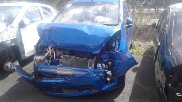 2011 Holden Barina Blue