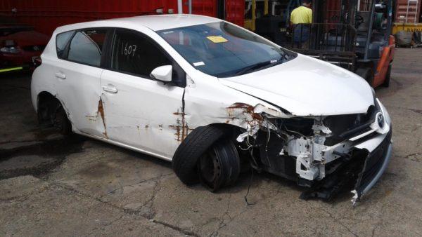 2012 Toyota Corolla Hatchback White