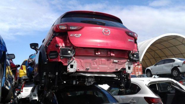 2017 Mazda CX3 Red
