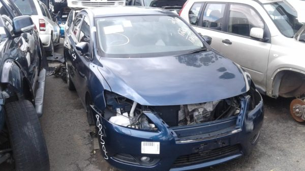 2013 Nissan Pulsar Blue