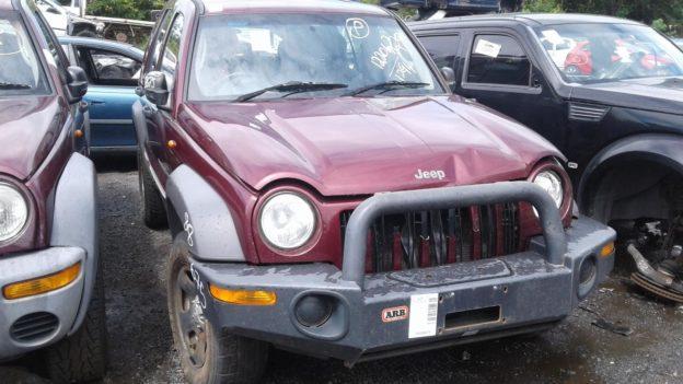 2002 Jeep Cherokee Maroon