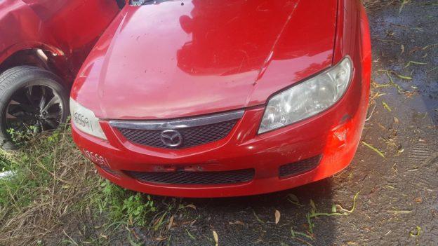 2002 Mazda 323 Red