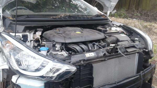 2014 Hyundai Elantra Silver