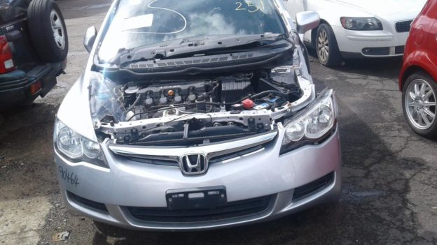 2007 Honda Civic Silver Sedan