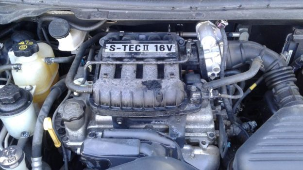 2011 Holden Barina Black