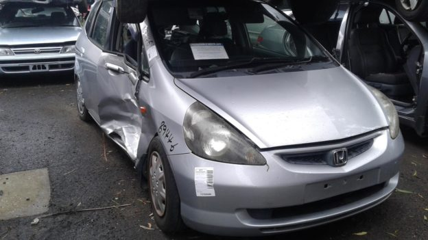 2003 Honda Jazz Silver Manual
