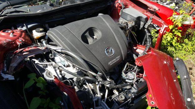 2015 Mazda CX5 Red
