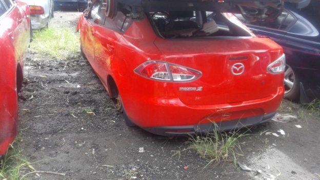 2010 Mazda 2 Sedan Red