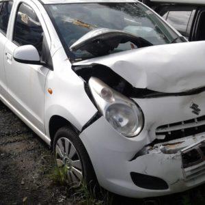 2012 Suzuki Alto White