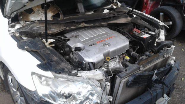 2007 Toyota Aurion White