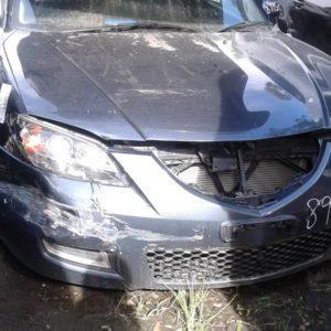 2008 Mazda 3 Grey Sedan