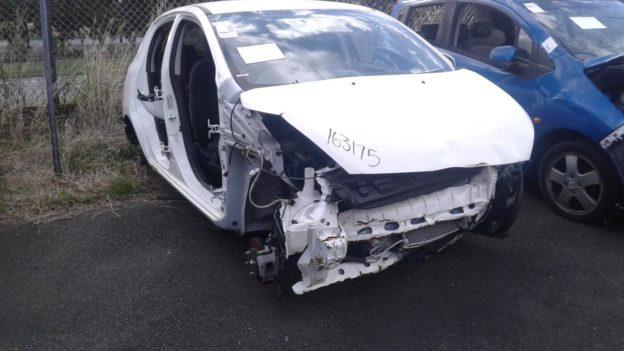2015 Mitsubishi Mirage White