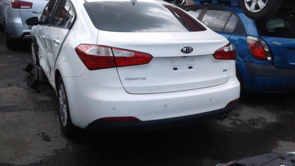2015 Kia Cerato White