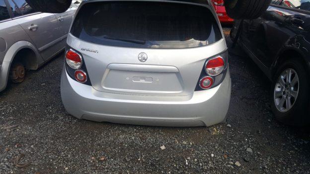 2012 Holden Barina Silver