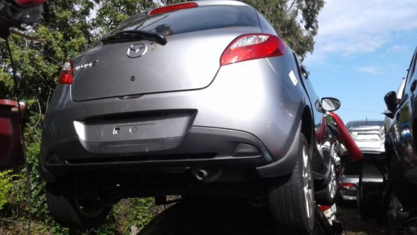 2014 Mazda 2 Grey
