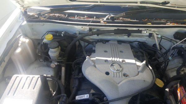 2006 Holden Rodeo White