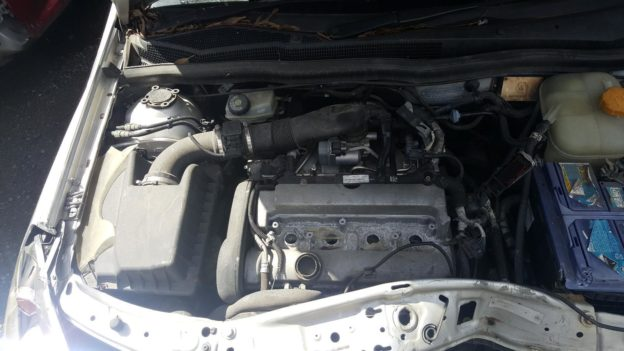 2006 Holden Astra Silver