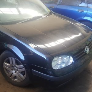2002 Volkswagen Golf Black