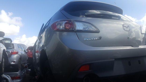 2010 Mazda 3 Silver Hatchback
