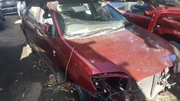 2004 Toyota Corolla Sedan Red