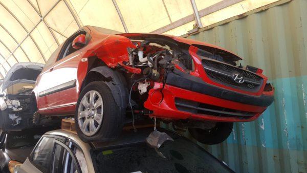 2009 Hyundai Getz Red
