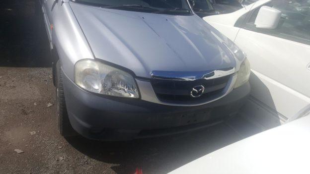 2003 Mazda Tribute Silver