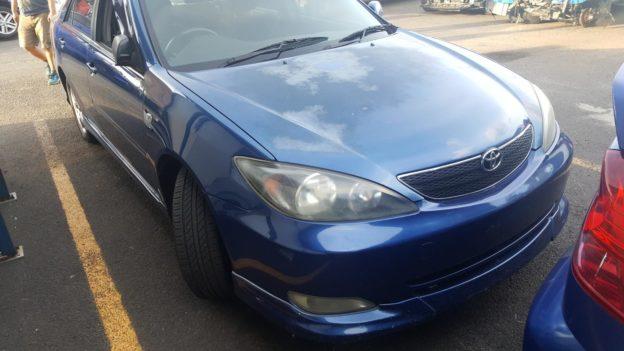 2003 Toyota Camry Sedan Blue