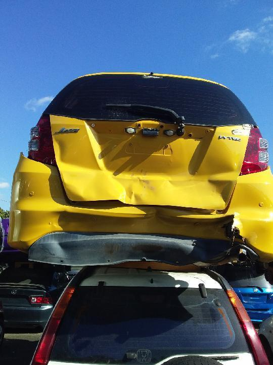 2008 Honda Jazz Yellow