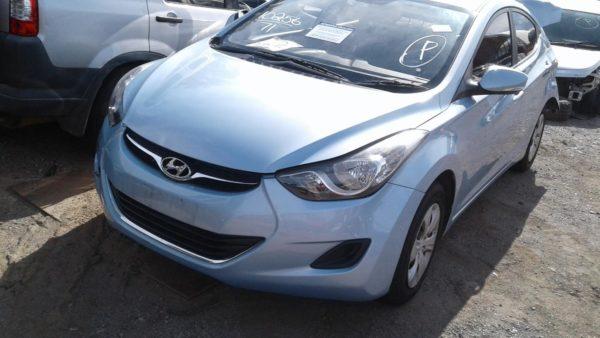 2011 Hyundai Elantra Blue